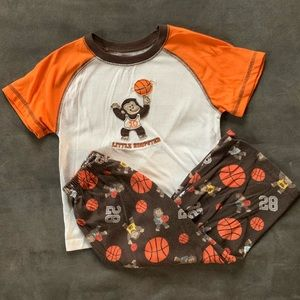 Carter's Monkeys & Basketball Pajama Set